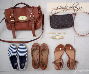 Louis Vuitton, mulberry, and tory burch image