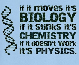 biology, chemistry, and physics image