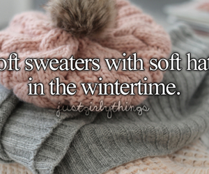 winter, hat, and sweaters image
