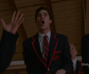 glee, darren criss, and warblers image