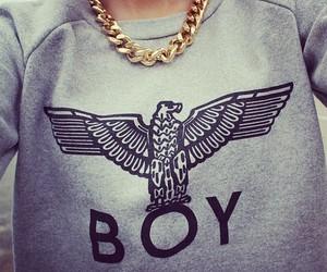 boy, fashion, and gold image