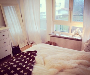 bedroom and pretty home image