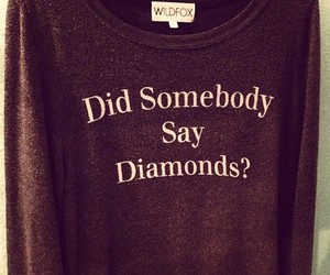 fashion, diamond, and wildfox image