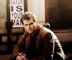 david tennant, doctor who, and time lord image