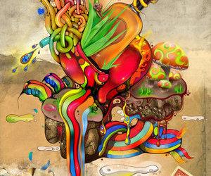 deviantart, digital art, and emotional image