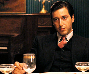 al pacino, corleone, and movie image