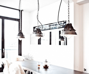 decor, industrial, and chic interior image