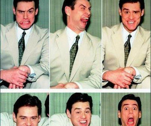 jim carrey, funny, and face image