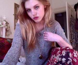 beautiful, blonde, and pale image