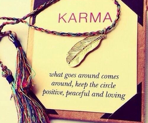 karma, quotes, and positive image