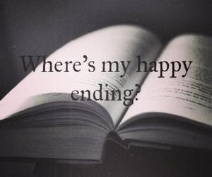 end, happy, and sad image