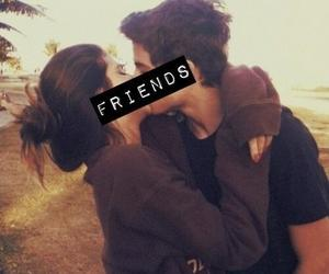 friends, love, and kiss image