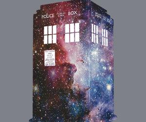 blue box, doctor who, and tardis image