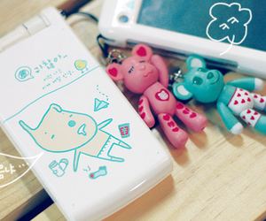 cute, kawaii, and phone image