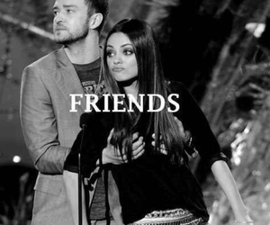 friends, justin timberlake, and Mila Kunis image