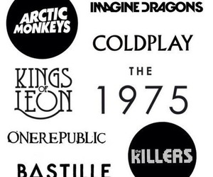 arctic monkeys, bastille, and coldplay image
