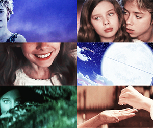 first kiss, neverland, and peter pan image
