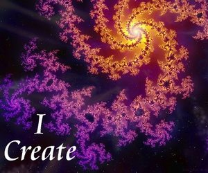 create, light, and psychedelic image