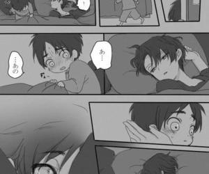 anime, ereri, and kawaii image