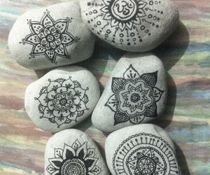 rock, stone, and art image