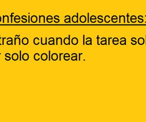 espanol, texto, and escuela image