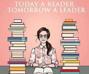 book, leader, and reader image