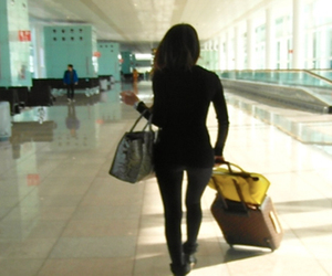 airport and travel image