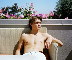 Luke Grimes, shirtless, and gsg image