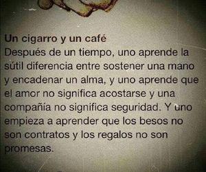 amor, cafe, and alma image