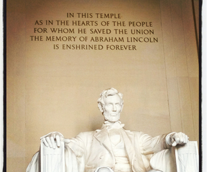 DC, lincoln, and memorial image
