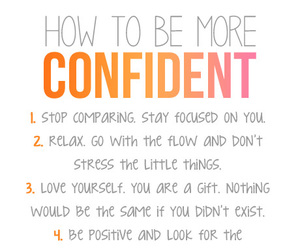 confident, quotes, and confidence image