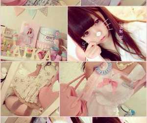girl, japanese, and kawaii image