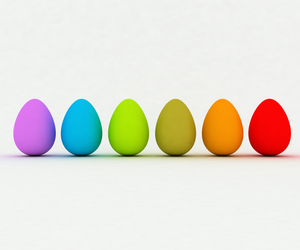 colours and eggs image
