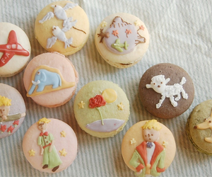 confectionery, le petit prince, and macaron image