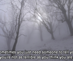 quote, sad, and pale image