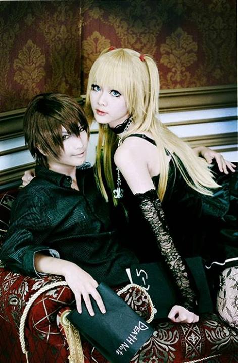 Light And Misa Cosplay From Death Note The Last Name Via