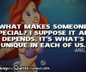 disney, ariel, and quote image