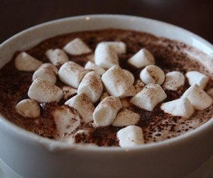 chocolate, marshmallow, and food image
