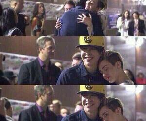 miley cyrus, austin mahone, and miley image