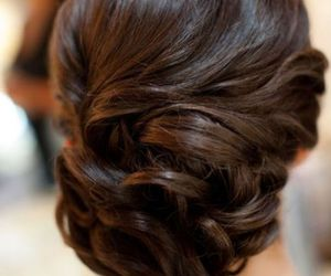 curls, prom hairstyle, and hair image