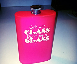 class, alcohol, and girl image