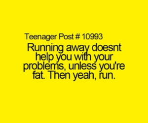 run, problem, and funny image