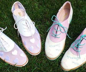 shoes, pastel, and cute image