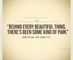 pain, beautiful, and quotes image