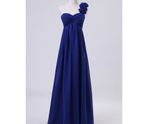 blue, prom dress, and bridesmaid dress image