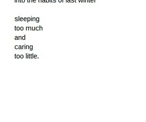 quote and winter image