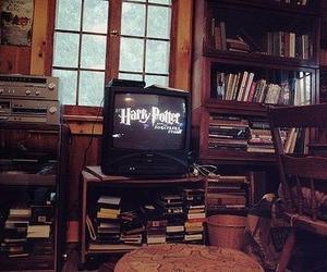 harry potter, book, and tv image