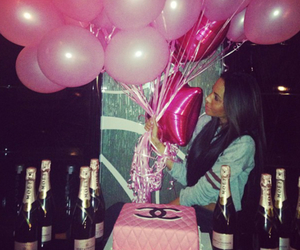 pink, birthday, and party image