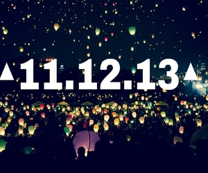 today, 11.12.13, and cool image