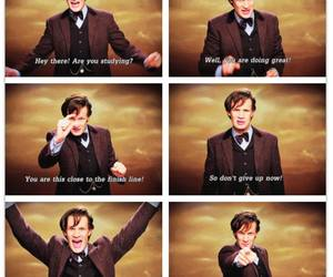 doctor who, matt smith, and studying image